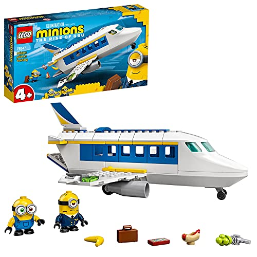 LEGO 75547 Minions Minion Pilot in Training Buildable Plane Toy with Bob...
