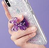 Case-Mate Stand Ups - Balloon Dog - Sheer Crystal - Purple