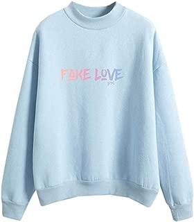 Kawaii Kpop Exo Sweatshirts Women Harajuku Outwear Candy Color Long Sleeve Casual