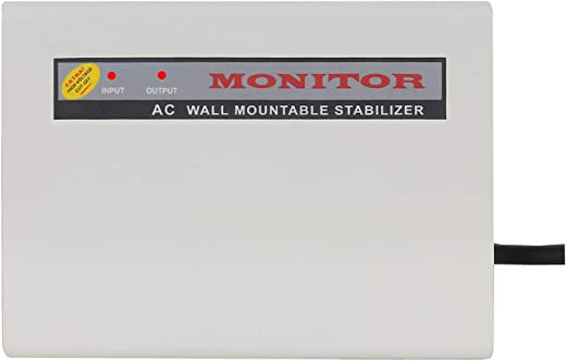 MONITOR 4-KVA Wall Mountable Voltage Stabilizer For Split / Inverter AC upto 1.5 Ton AC (100% Copper)