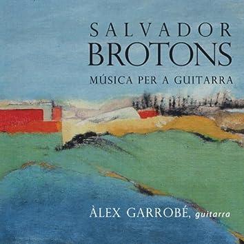 Salvador Brotons: Música per a Guitarra