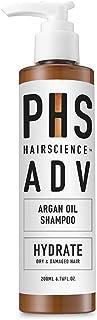 PHS HAIRSCIENCE ADV Argan Oil Shampoo, 200 milliliters