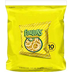 Funyuns Onion Flavored Rings, 0.75oz Bags (10 Pack)