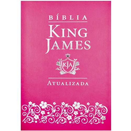 Bíblia King James Atualizada Slim | Kja | Pink Fuxia