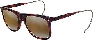 d0433d4025 Vuarnet VL151000022136 Hooks Cable Temple Sunglasses Dark Tortoise Frame  Brownlynx Mirror Glass Lens