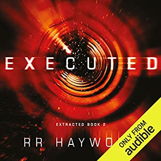 Executed audiobook cover art