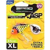 Spro ASP Spinner XL - Bleikopfspinner Jiggin Spinner, Größe/Gewicht:Gr. 4 / 35g, Farbe:Cat Special