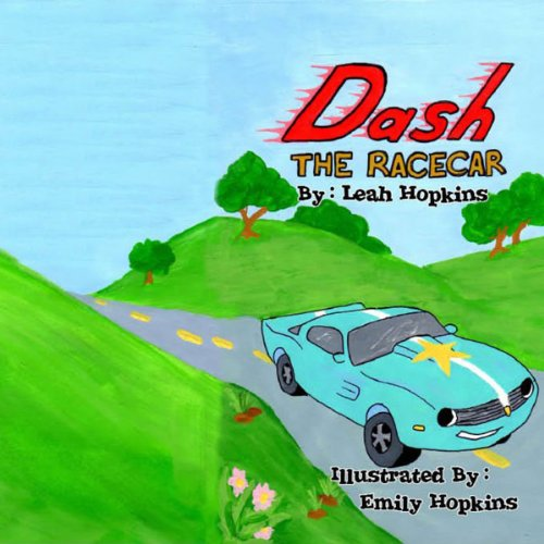 Dash the Racecar audiobook cover art