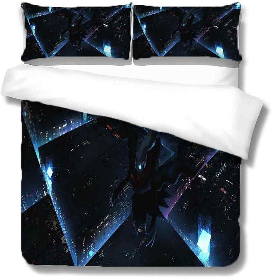 IOCXSO Soft Save money Bedding Duvet Cover Set specialty shop Co Animal King Black Cartoon