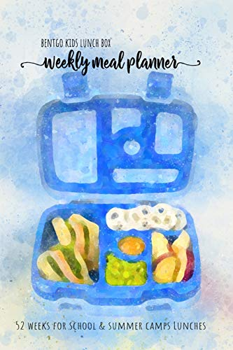 BENTGO KIDS LUNCH BOX - Weekly meal planner for school and summer camp lunches: This lunch journal is the perfect tool to create snacks and remember ... Notes PDF + Grocery list interactive PDF