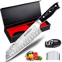 mosfiata combinazione di coltelli da chef (coltello santoku)