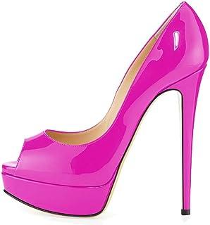 サンダル、滑り止め、快適な魚の口、防水プラットフォーム、婦人靴 (色 : G g, サイズ さいず : 45donglu)