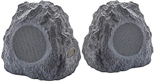 ION Audio Sound Stone 2 Wireless Outdoor Rock Speakers (Pair) - Dark Gray (Electronics)