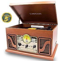 Lauson CL747 Gramófono Retro Bluetooth Función