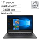 2020 HP 14' HD LED Premium Laptop - 10th Gen Intel Core i5-1035G4 up to 3.7GHz, 4GB DDR4, 128GB SSD, USB Type-C, HDMI, Windows 10 - Silver