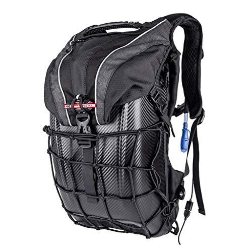 Mochila para Casco de Motocicleta, Portátil, Impermeable,de Gran Capacidad,con USB,bolsa para Botella...