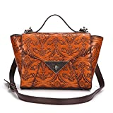 Sumferkyh - Bolso de tela para mujer naranja Naranja