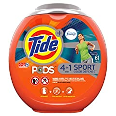 PACKAGING MAY VARY Each Tide PODS is a 4-in-1 breakthrough technology with detergent, stain remover, color protector, and Odor Defense technology, giving you more bang for your buck Tide PODS pacs are small but powerful. They pack 6X cleaning power* ...