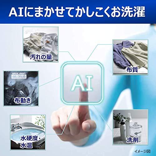日立ドラム式洗濯乾燥機ビッグドラム洗濯11kg右開き日本製液体洗剤・柔軟剤自動投入BD-SX110CRNロゼシャンパン