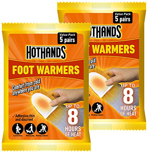 HOTHANDS Foot Warmers Value Pack - Pack of 2 (5 pairs each)