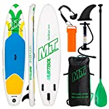 Murtisol 10'5 ''Gonflable Stand Up Paddle Board (30in Width), PVC Ultra-épais...