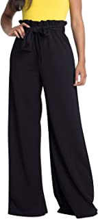 Women's Junior Plus J2 Love Paperbag Wide Leg Pants