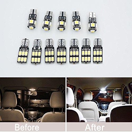 Lot de 15 x LED Blanc SMD CANBUS éclairage Intérieur kit pour S W221 + AMG