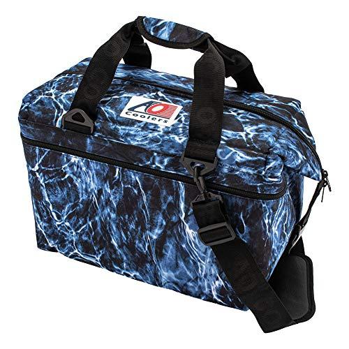[エーオー クーラーズ] AO Coolers クーラーバッグ 24パックキャンバス ソフトクーラー AOELBF24 ブルーフ...