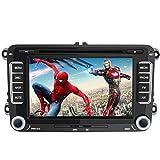 Autoradio Radio de Voiture stéréo 7 Pouces pour VW 2 Din HD Bluetooth Navigation GPS stéréo DVD CD Radio Carte SD USB Multimédia Player