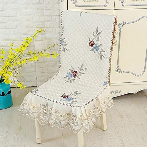 Felpa linda super cómodo cojín de asiento suave Silla del patio Patio Tumbona cojín de asiento a Oficina Pad Mat Sillón mecedora Silla Acampar silla de la cocina ( Color : 4 , Size : Free size )
