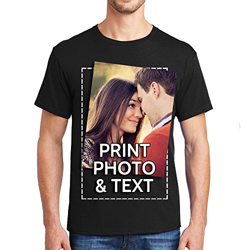 Customized t Shirts Men Youth Add Your Text Name Photo Printing