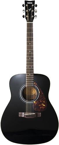 Yamaha F370 Guitare Acoustique Folk Black – Guitare folk d'étude – Guitare d'étude 4/4 – Pour adultes, débutants et a...