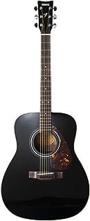 Yamaha F370 Guitarra Acústica Guitarra Folk 4/4 de madera, escala 634 mm, 25 pulgadas, 6 cuerdas metálicas, Color Negro