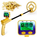 INTEY Metal Detector Lightweight & High Precision LCD...