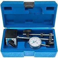 S-MAHO2 - Juego de soporte magnético con base magnética y reloj comparador, resolución 0-10 mm 0,01 mm