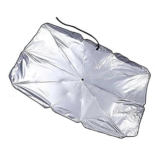 BEKwe Parasol de la sombrilla del Tablero del Aislamiento térmico del Protector Solar del Coche, Apto para Honda CRV