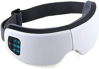 ماساژور چشم با گرما ، ماساژور برقی ماسک چشم قابل شارژ ارتعاش فشرده سازی هوا با موسیقی بلوتوث برای خشکی چشم رفع خستگی ایده آل هدیه