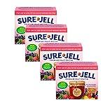Kraft Sure Jell Light Premium Fruit Pectin 1.75oz (4 Pack)