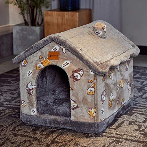 Foldable Dog House Kennel Bed Mat store for Small Win Medium Nippon regular agency Dogs Cats