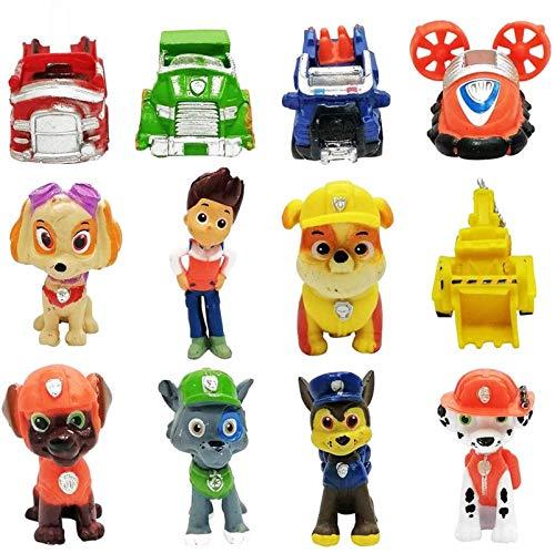 Adornos para Pasteles, 12 Minifiguras, Adornos para Tartas, Minifiguras, Adornos para Tortas, Suministros para Decoración de Fiestas Tortas