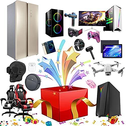 ASASX Caja misteriosa electrónica, Cajas misteriosas de la Suerte, súper rentable, Estilo Aleatorio, Latido del corazón, excelente Valor, obtendrá 1 o más Productos Purple