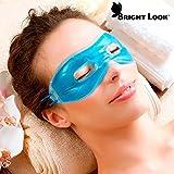 welzenter Bright Look Augenmaske Kühlmaske Entspannungsmaske, Verwendung in Warm und Kälte