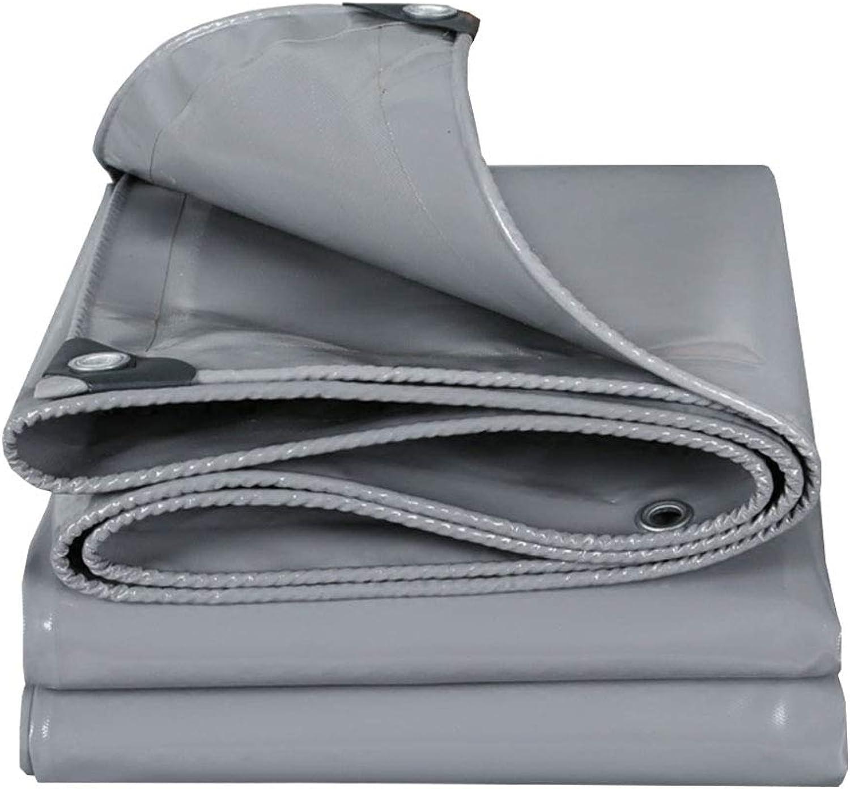 YX-Planen Dickes Starkes PVC-Planengrau Vielzweck - Hohe Dichte 100% 100% 100% wasserdicht und UV-geschützt - Dicke 0,45 mm, 530 g m² B07KSYP1BC  Bekannt für seine gute Qualität 9e03e9