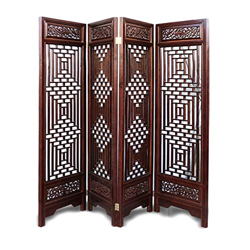 Buy Discount Even Antique Brown Living Room Decoration Screen,Charm Oriental Traditional Furniture,Folding,Wall Divider