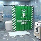 Duschvorhang Decontamination Zone