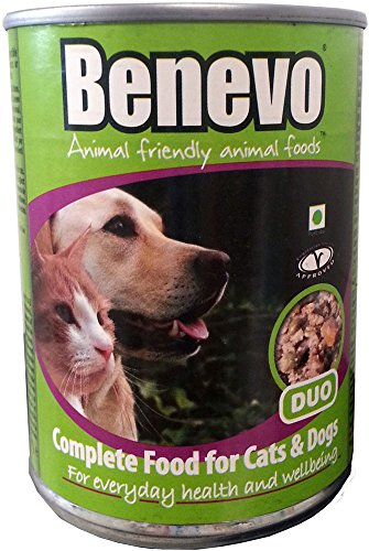 Benevo Vegan Hunde- & Katzenfutter Duo 4x369g