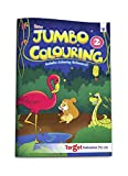 Blossom Jumbo Creative Colouring Book for Kids | 5 to 7 years old | Best Gift to Children for Drawing, Coloring and Painting with Color Reference Guide | A3 Size | Level 2