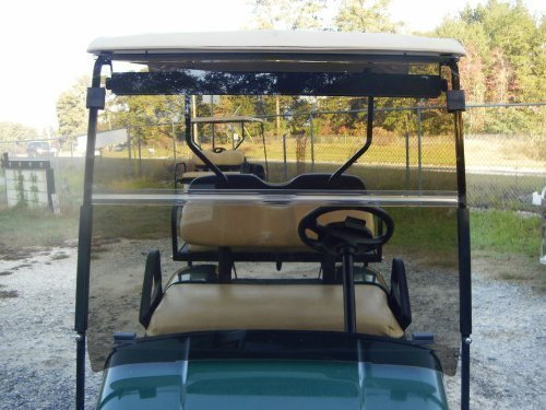 Tinted Windshield for EZGO TXT Golf Cart 1994.5-2013
