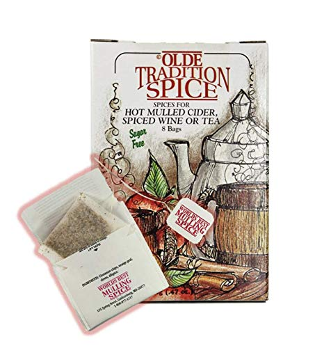 Olde Tradition Spice: Mulling Spices in Tea Bags (8 Count)