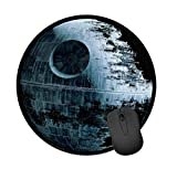 Mouse Pad for Office and Home Computers, Star Wars - Mouse Pad - Death Star - in Shape